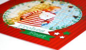 Babykarte Weihnachten